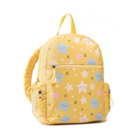 žlté dievčenské batohy