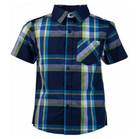 Lewro OLIVER tmavo modrá - Chlapčenská košeľa
