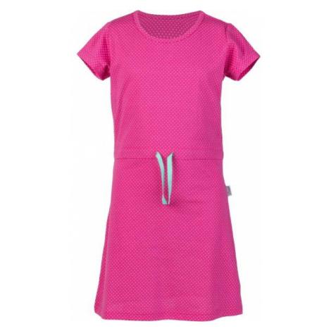 Lewro MARSHA ružová - Dievčenské šaty