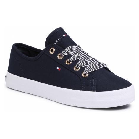 Tenisky TOMMY HILFIGER - Essential Nautical Sneaker FW0FW04848 Desert Sky DW5