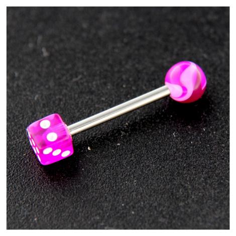 Strieborný piercing 14373