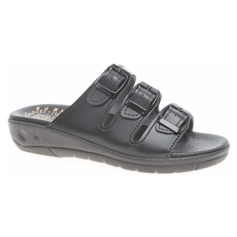 Dámské pantofle 5-20104 černé 5-20104 černá Rejnok