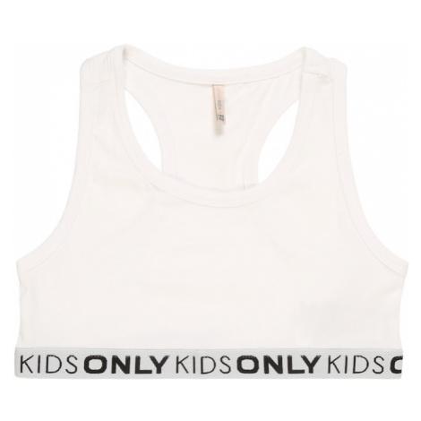 KIDS ONLY Podprsenka 'KONLOVE'  biela