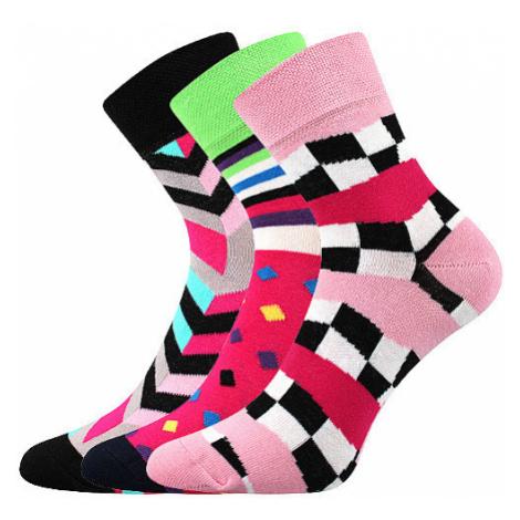 3PACK ponožky BOMA viacfarebné (Ivana 56) M