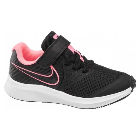 NIKE - Čierne tenisky na suchý zips Nike Star Runner 2