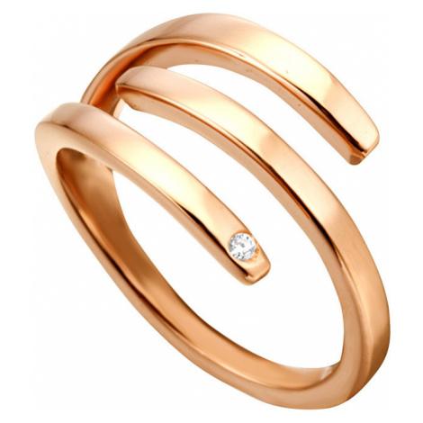 Esprit Štýlový bronzový prsteň Iva ESRG001616 mm