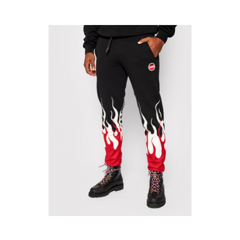 Colmar Teplákové nohavice Mood 9722 6UX Čierna Regular Fit