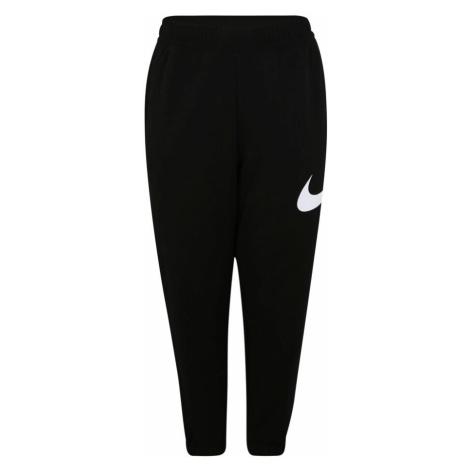 Nike Sportswear Nohavice  čierna / biela