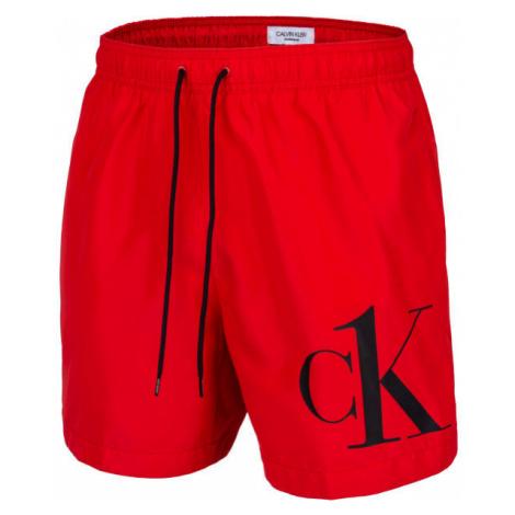 Calvin Klein MEDIUM DRAWSTRING - Pánske šortky do vody