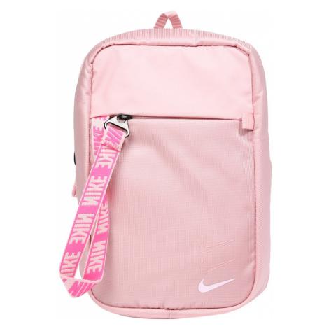 Nike Sportswear Taška cez rameno 'Advance'  svetloružová / biela