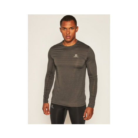 Salomon Funkčné tričko Xa Ls Tee LC1276400 Sivá Active Fit