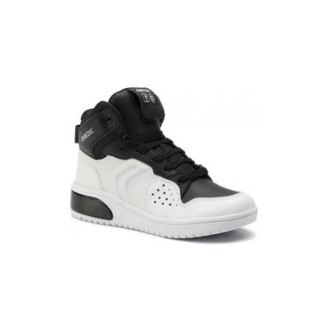 Geox Sneakersy J Xled B. A J947QA 0BCBU C0404 S Biela