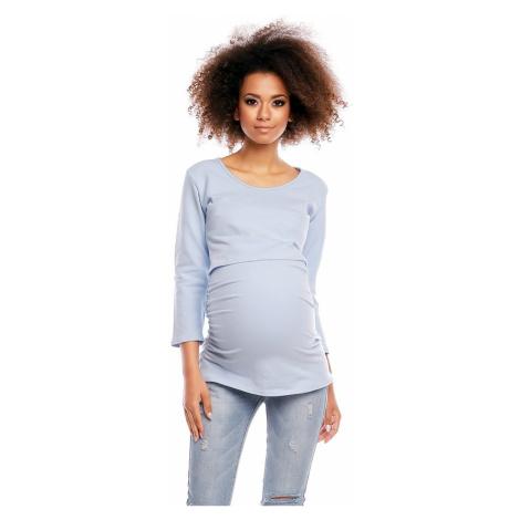 Modré tehotenské blúzky
