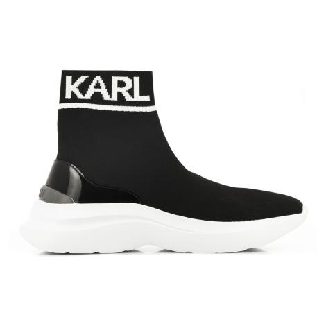 Členková Obuv Karl Lagerfeld Skyline Knit Ankle Pull On