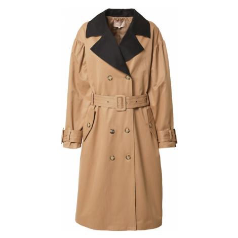 Soft Rebels Prechodný kabát 'Agnes'  béžová / čierna