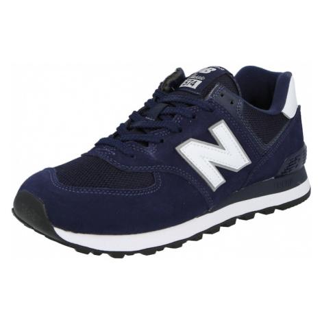 new balance Nízke tenisky '574'  námornícka modrá / biela