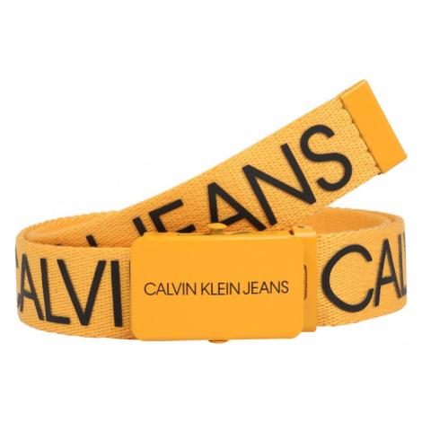 Calvin Klein Jeans Opasky  čierna / žltá