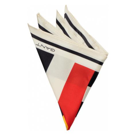 VRECKOVKA GANT D1. SIGNAL FLAG SILK PKT SQUARE