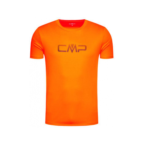CMP Funkčné tričko 39T7117P Oranžová Regular Fit