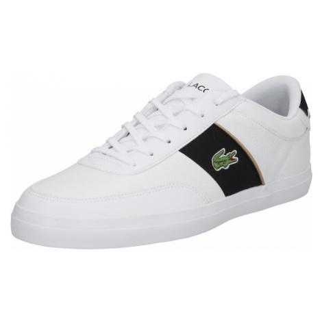 LACOSTE Členkové tenisky 'Court-Master'  biela / čierna / zelená