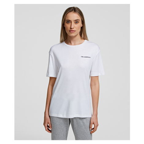 Pyžamové Tričko Karl Lagerfeld Unisex Logo Pyjama T-Shirt