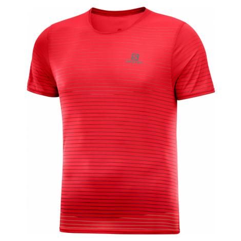 Pánske tričko Salomon Sense Tee červené
