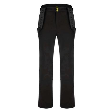 Loap LYENER čierna - Pánske softshellové nohavice