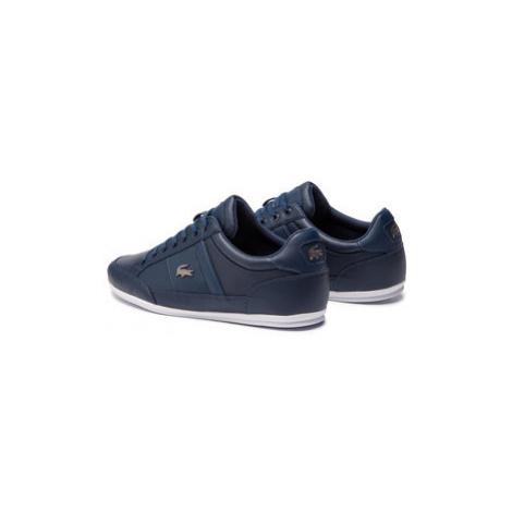 Lacoste Sneakersy Chaymon Bl 1 Cma 7-37CMA0094092 Tmavomodrá