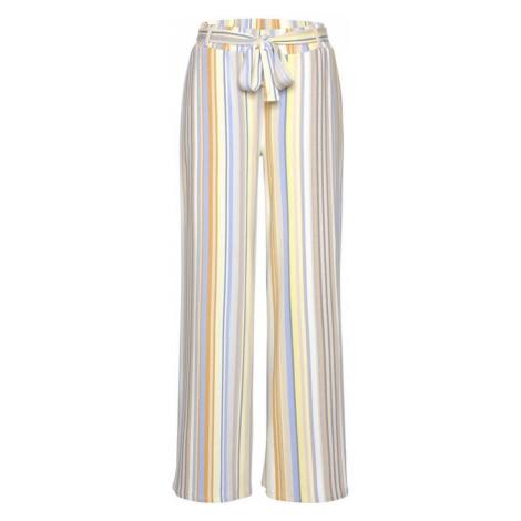 VENICE BEACH Nohavice  žltá / zmiešané farby / béžová / modrá