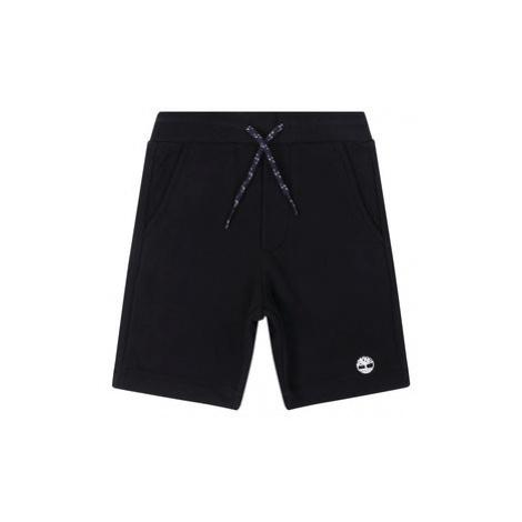 Timberland Bavlnené šortky T24A87 D Čierna Regular Fit