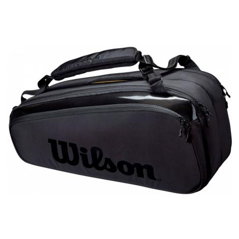 Taška na rakety Wilson Super Tour 9 Pack Pro Staff Black