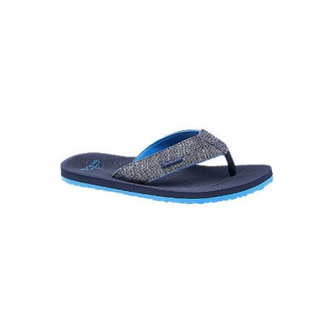 Modré plážové žabky Blue Fin