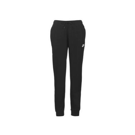Nike W NSW ESSNTL PANT REG FLC Čierna
