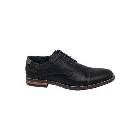 Čierna spoločenská obuv Venice
