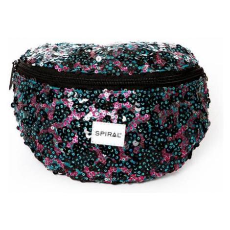 Ľadvinka Spiral Infinity Sequins Bum Bag Black Glamour - Veľkosť:UNI