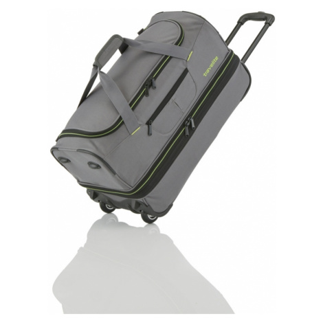 Travelite Basics Wheeled duffle S Grey/green