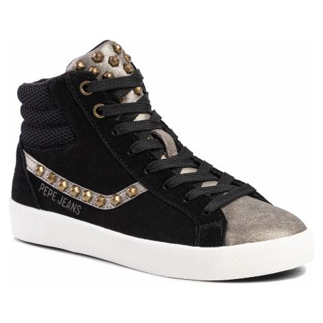 Sneakersy PEPE JEANS - Kioto Anin PLS30916  Black 999