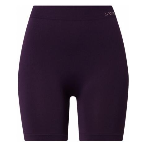 Swedish Stockings Formujúce nohavice 'Jill'  baklažánová