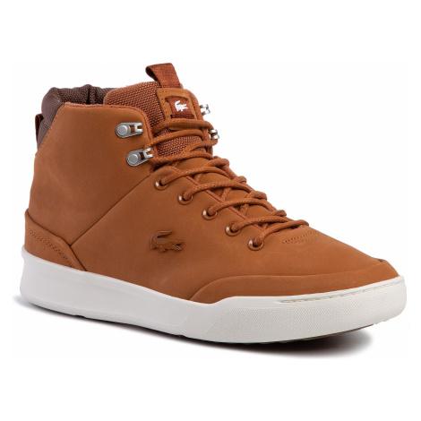 Sneakersy LACOSTE - Explorateur Classic 3192 Cma 738CMA0004F57  Tan/Off Wht