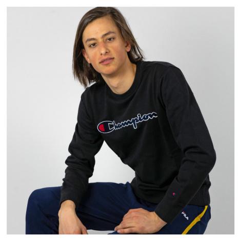 Čierna mikina Rochester Crewneck Sweatshirt Champion