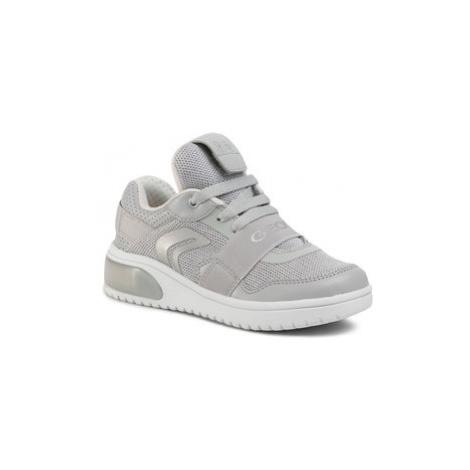 Geox Sneakersy J Xled G. A J928DA 06KNF C1010 M Sivá