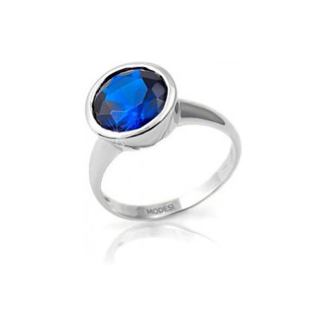 Modesi Prsteň Dark Blue QJRY4034LW mm