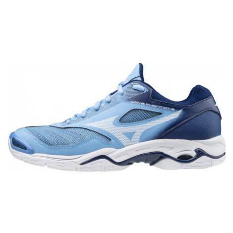 Dámska halová obuv Mizuno Wave Phantom 2 Blue/White