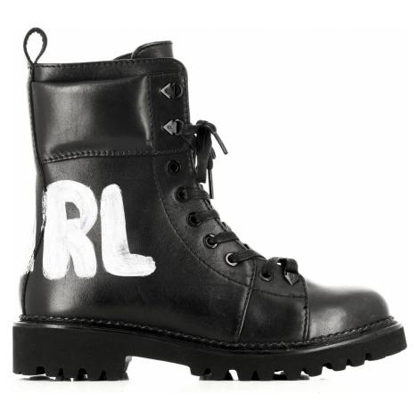 Členková Obuv Karl Lagerfeld Kadet Ii Hi Lace Boot
