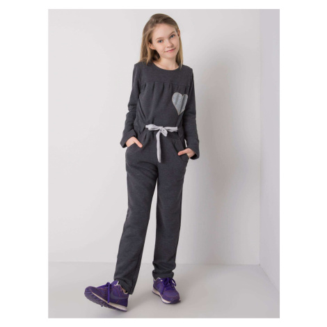 DODO KIDS Graphite jumpsuit for a girl