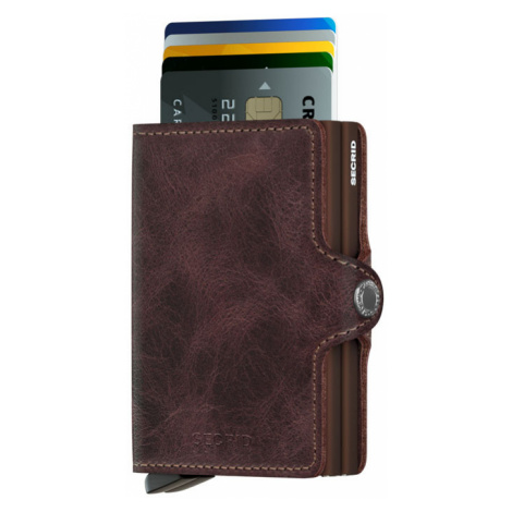 Secrid Twinwallet Vintage Chocolate-One size hnedé TV-CHOCOLATE-One size