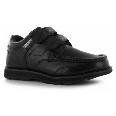 Kangol Harrow Strapped Childrens Shoes Black