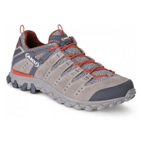 Topánky pánske AKU Alterra Lite GTX šedo / červená