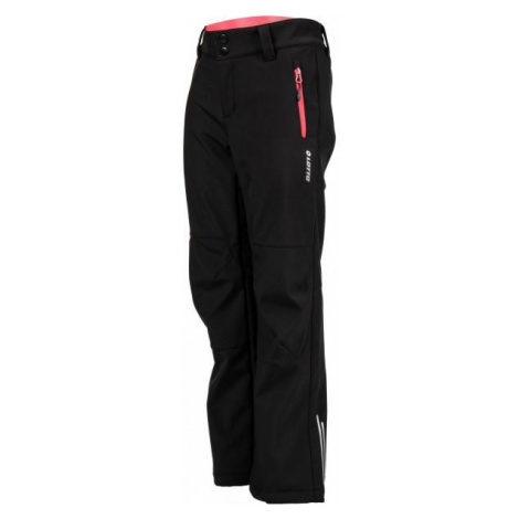 Lotto DAREK čierna - Detské softshellové nohavice