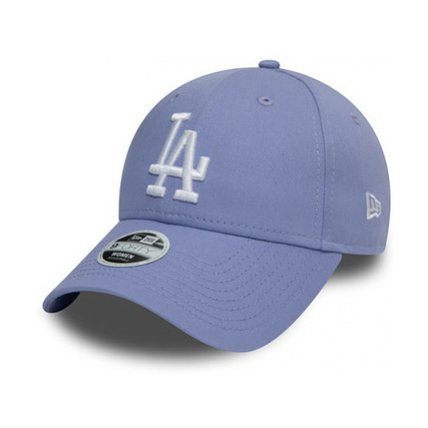 Dámska Šiltovka New Era 9Forty League Essential Mlb Los Angeles Dodgers Lavender/White